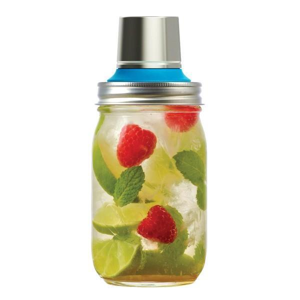 'Jarware' - Mason Jar Cocktail Shaker Lid (Regular Mouth)