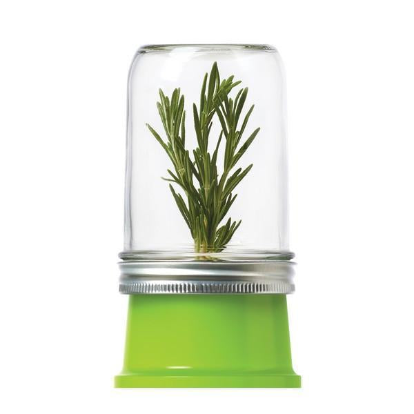 'Jarware' - Herb Saver Mason Jar Lid (Wide Mouth)
