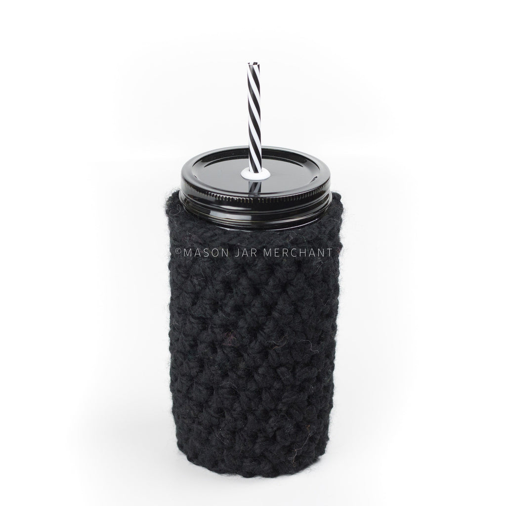 'Jet Black' Jar Cozy