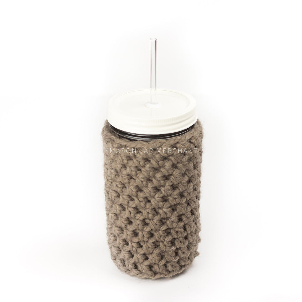 'Latte' Jar Cozy