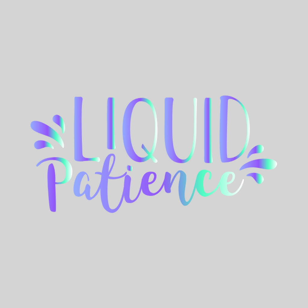 'Liquid Patience' Mason Jar Tumbler