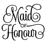 'Maid of Honor' Mason Jar Tumbler