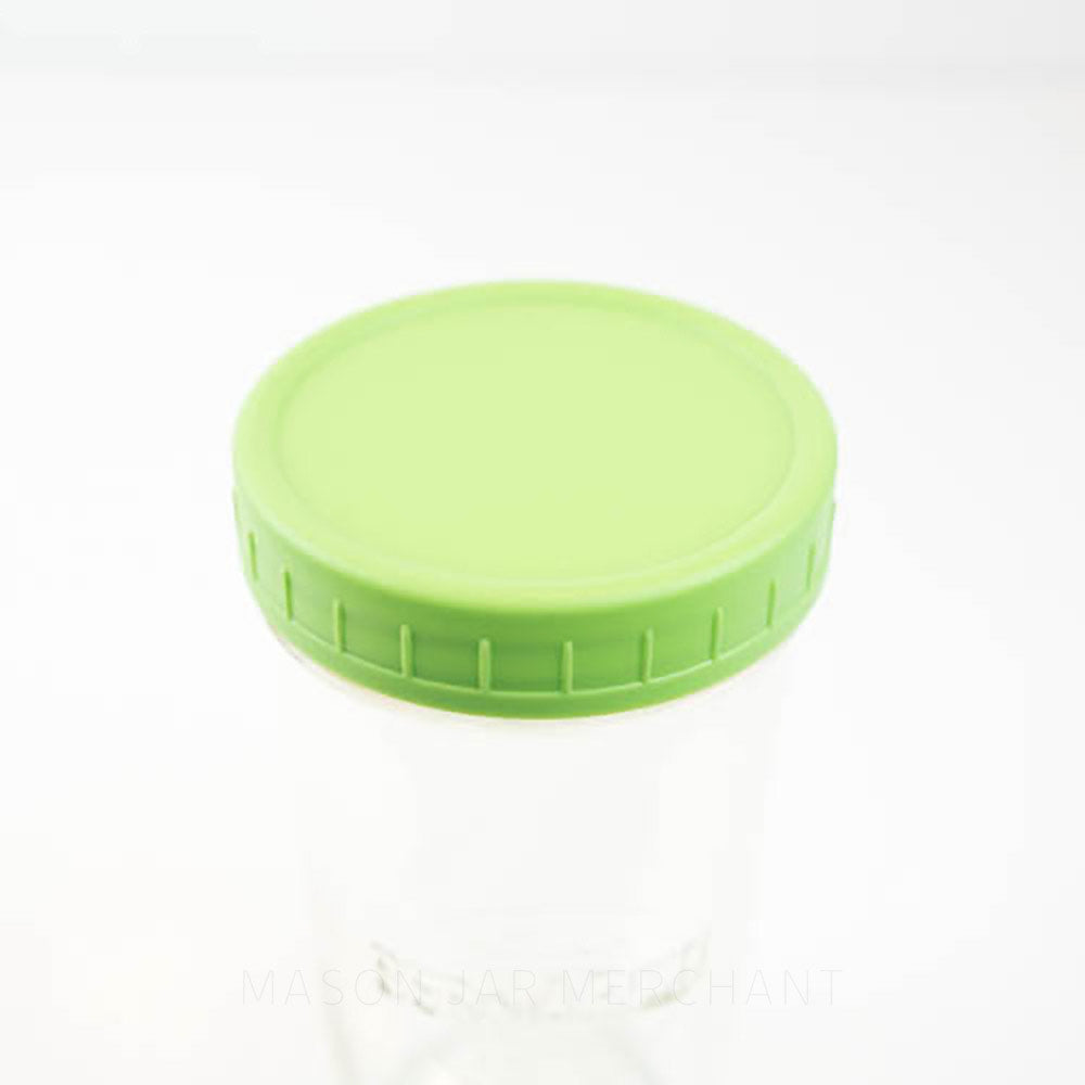 One-piece Plastic Storage Lid (Wide Mouth)