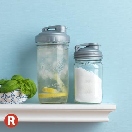 reCAP 'POUR' - Easy Pour Spout Mason Jar Lid (Regular Mouth)