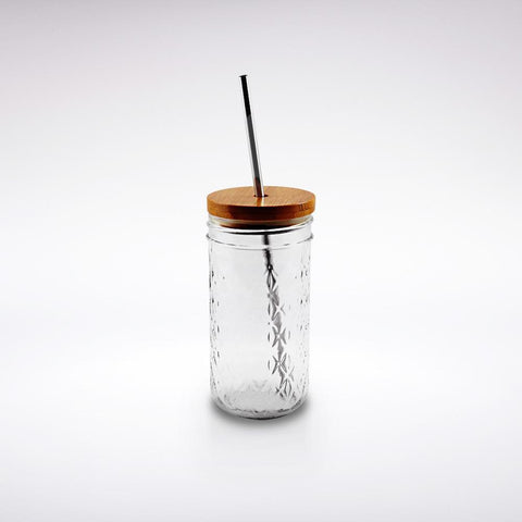 "'Smokin' Hot"" Mason Jar Tumbler"