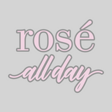 'Rosé All Day' Mason Jar Tumbler