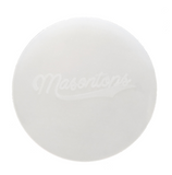 close up of a masontop silicone seal for mason jars on a white background