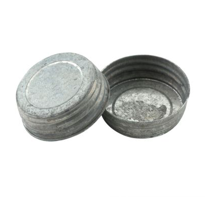 Galvanized Solid Lid