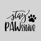 'Stay PAWsitive' Mason Jar Tumbler