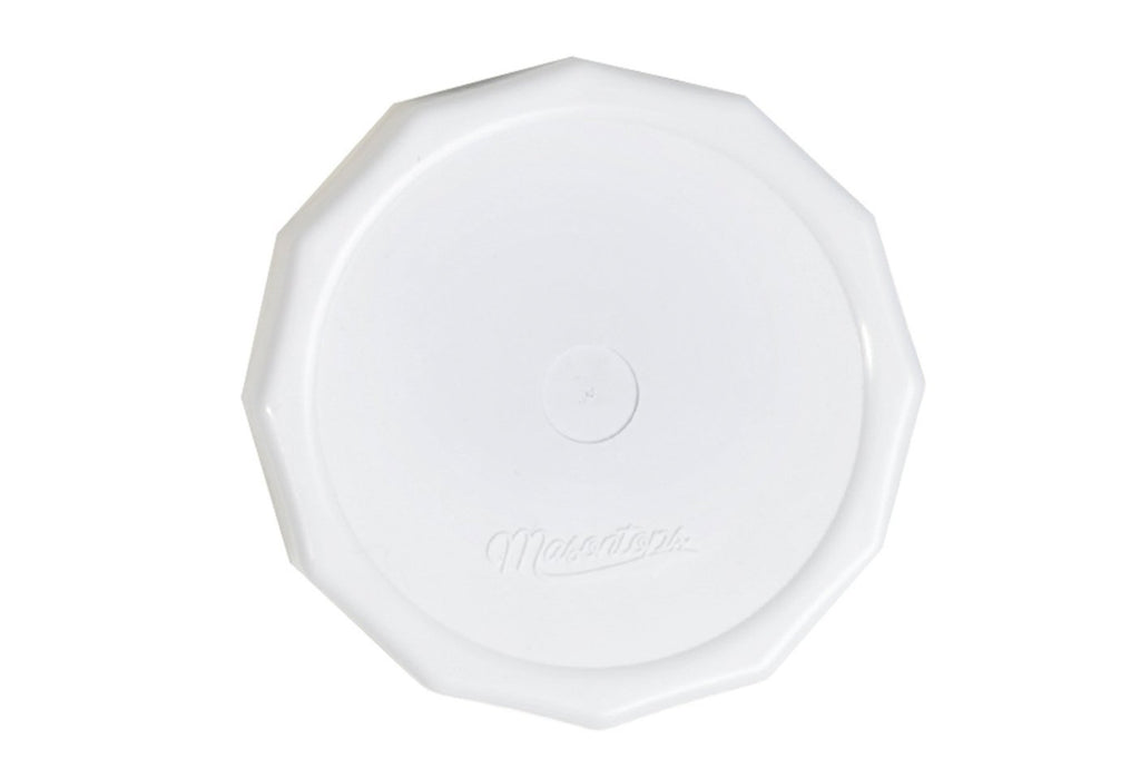 'Tough Tops' Rust Proof Plastic Solid Lid (4 Pack)