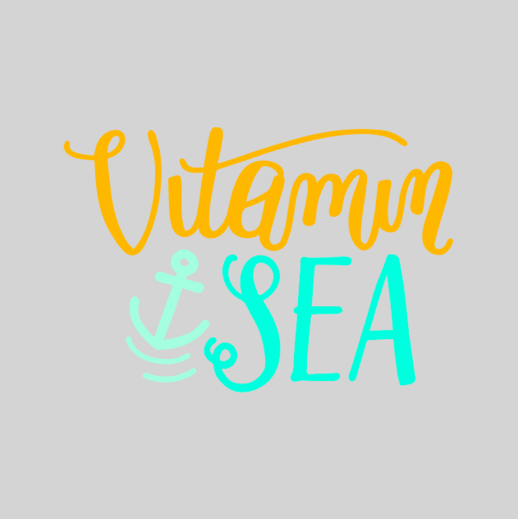 'Vitamin Sea' Mason Jar Tumbler