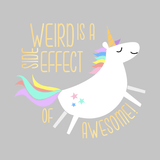'Weird Is A Side Effect Of Awesome' Mason Jar Tumbler
