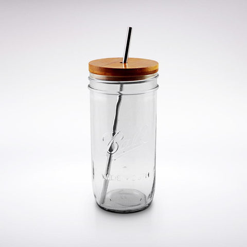'West Coast is the Best Coast'- Mason Jar Tumbler in Canary Yellow