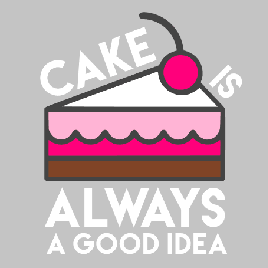 'Cake Is Always A Good Idea' Mason Jar Tumbler