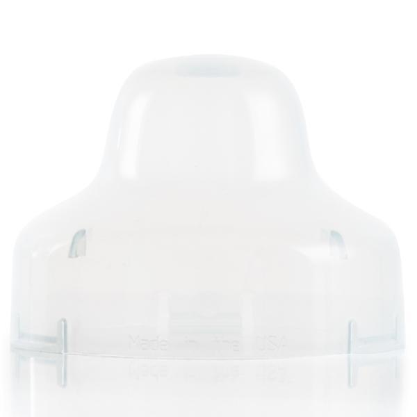 close up of a plastic cap for mason jar bottles