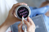 'Chalk Tops' - Chalkboard Finish Mason Jar Lids (8 Pack)