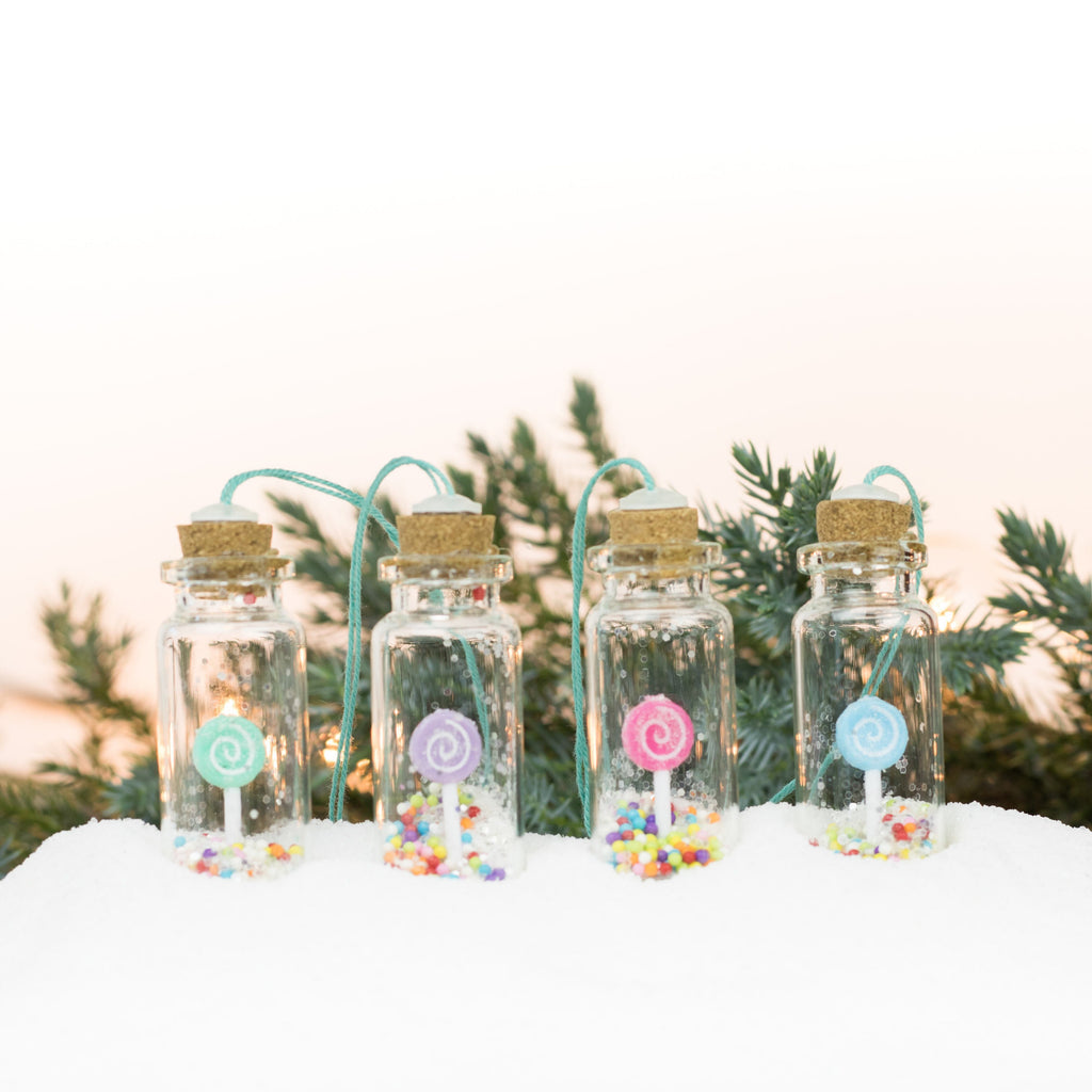 Bottle Ornaments - Sm - Lollipops