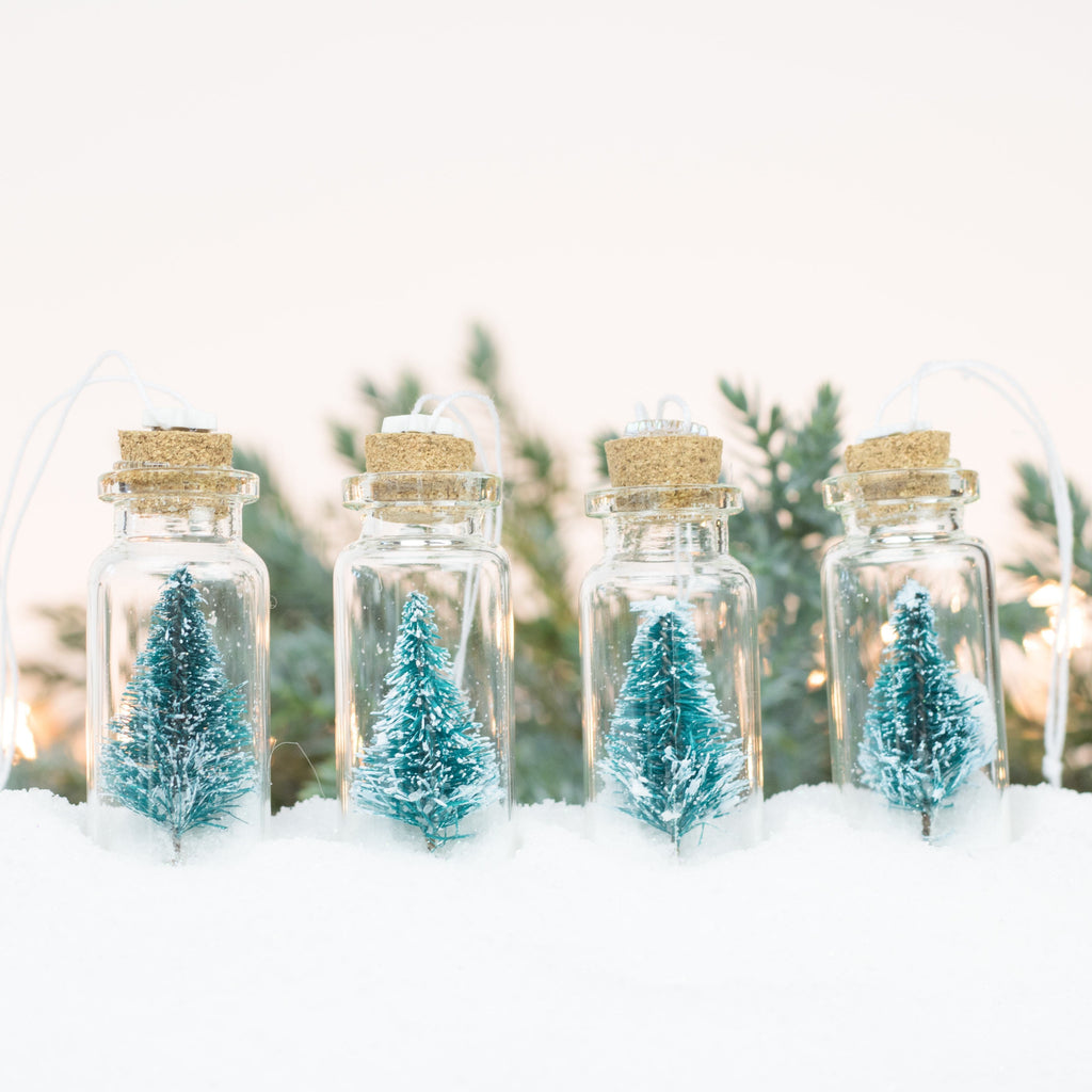 Bottle Ornaments - Sm - Tiny Trees