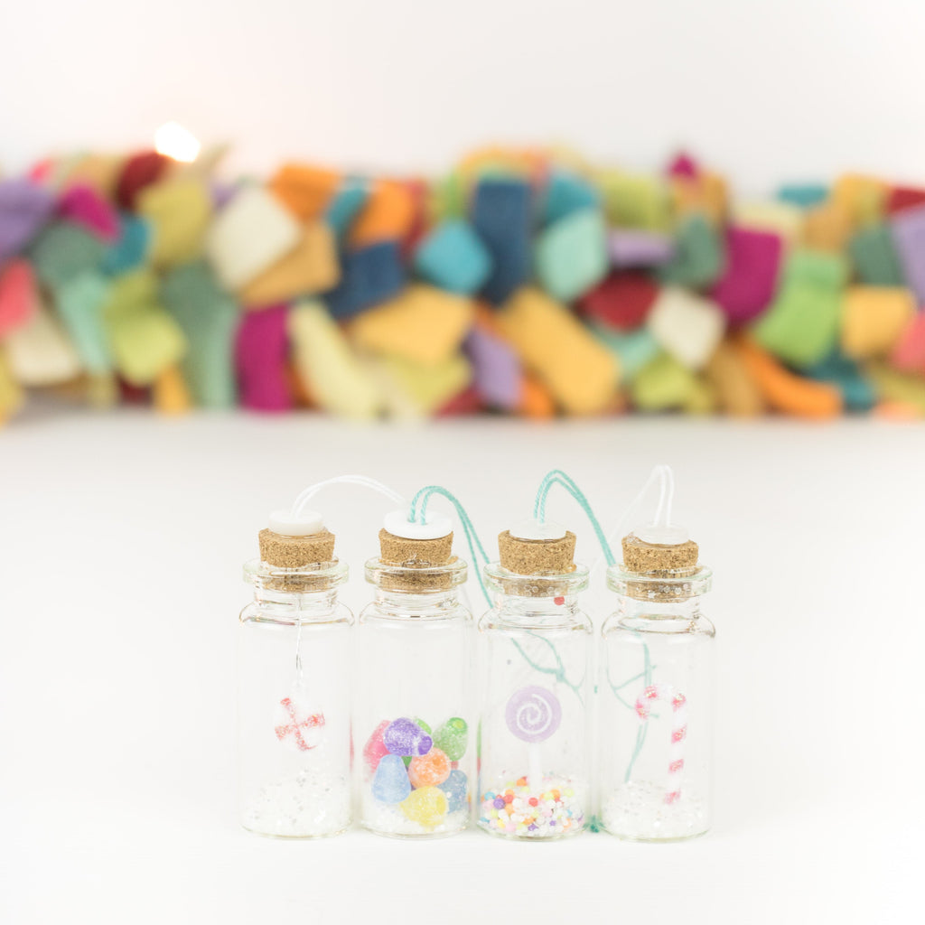 Bottle Ornaments - Sm - Candy Land