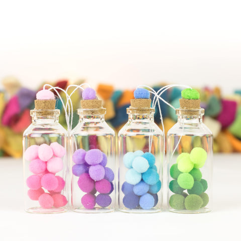 Bottle Ornaments - X Small - Elf Dust, multi