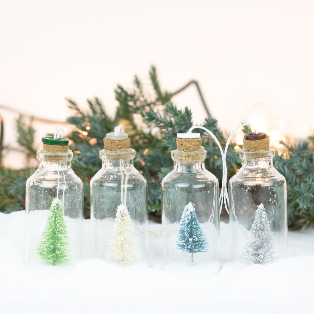 Bottle Ornaments - Lg - Tiny Trees