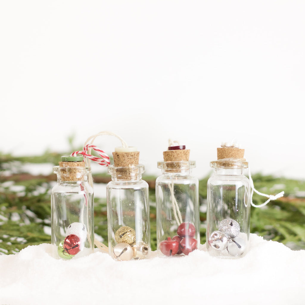 Bottle Ornaments - Sm - Jingle All The Way