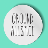 A Little Bit Dunn-y: Individual Wide Mouth Spice Labels