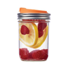 'Jarware' - Fruit Infusion Mason Jar Drink Lid