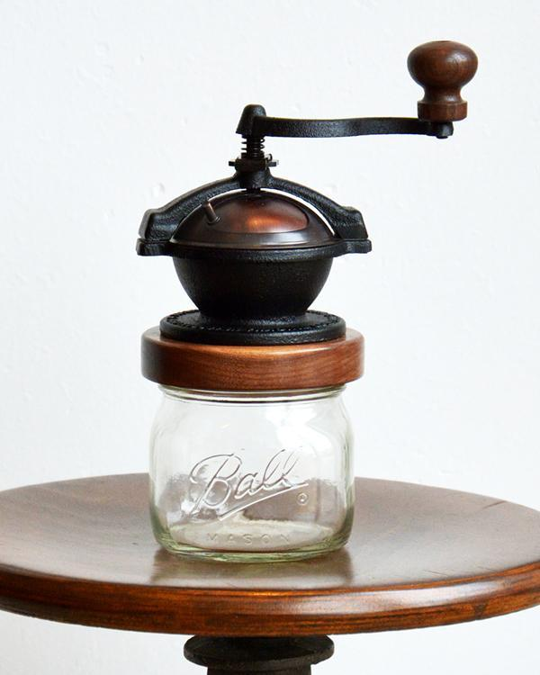 Camano Coffee Mill - Wide Mouth Mason Jar Coffee & Spice Grinder