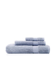 Pima Cotton Chevron Border Towel Set
