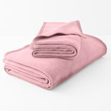 Plush Solid Throw Blanket