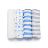 Bamboo Viscose Striped Swaddle Set