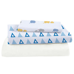 Bamboo Viscose Crib Sheet Set