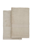 Bamboo Viscose Hand Towel Set of 2