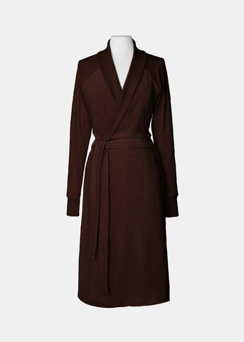 Organic Cotton Velour Robe