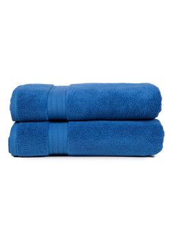 Zero Twist Towels, Blue