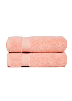 Zero Twist Towels, Rose