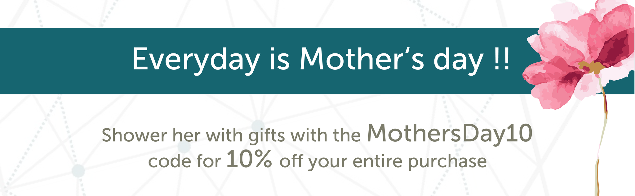promotion mothers day discount for azha accesories