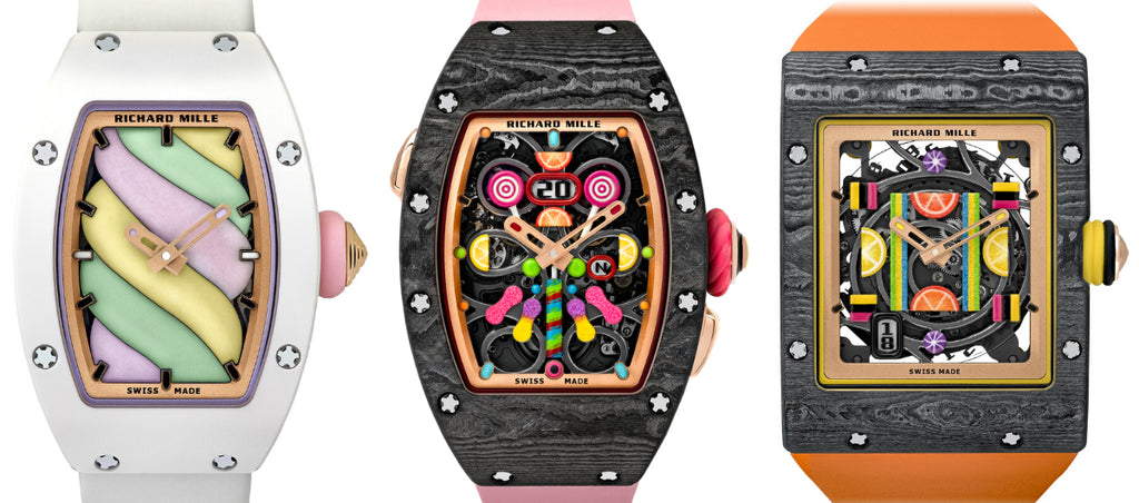 Richard Mille's BONBON Watch Collection Price