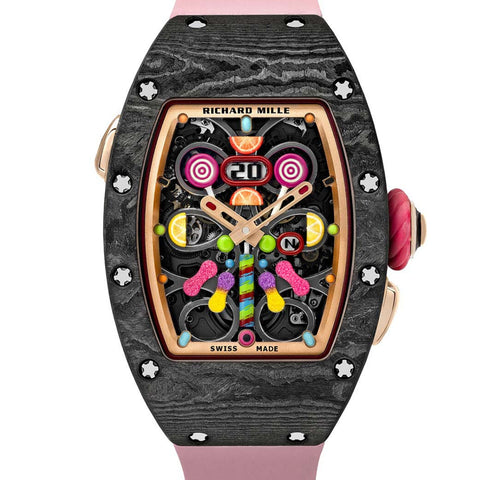 RM 37-01 CERISE Richard Mille bonbon watch collection - Sarasota Watch Company https://sarasotawatch.com