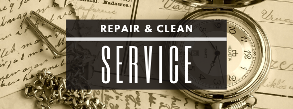 our expert watchmaker can polish, clean, service, fix, repair, replace parts.