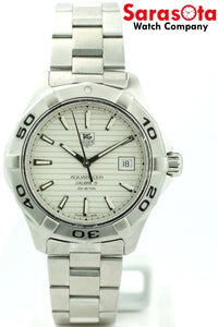 Tag Heuer Aquaracer Calibre 5 WAP2011 Stainless Steel Automatic Men's Watch