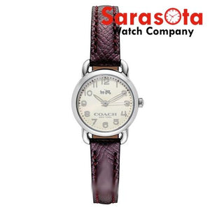 Coach 14502284 Delancey Cherry Strap Stainless Steel 24mm Case Women's Watch