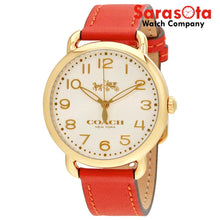 Coach 14502719 Delancey Coral Strap Gold 36mm Case Women's Watch