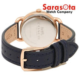 Coach 14502749 Delancey Navy Strap Rose Gold 28mm Case Women's Watch - Sarasota Watch Company
