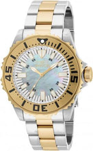 Invicta Pro Diver 17694 MOP Dial Two Tone Stainless Steel Quartz Men's Watch