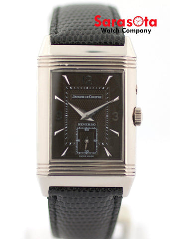 Jaeger LeCoultre Reverso Day & Night 270.3.54 18K White Gold Dress Men's Watch
