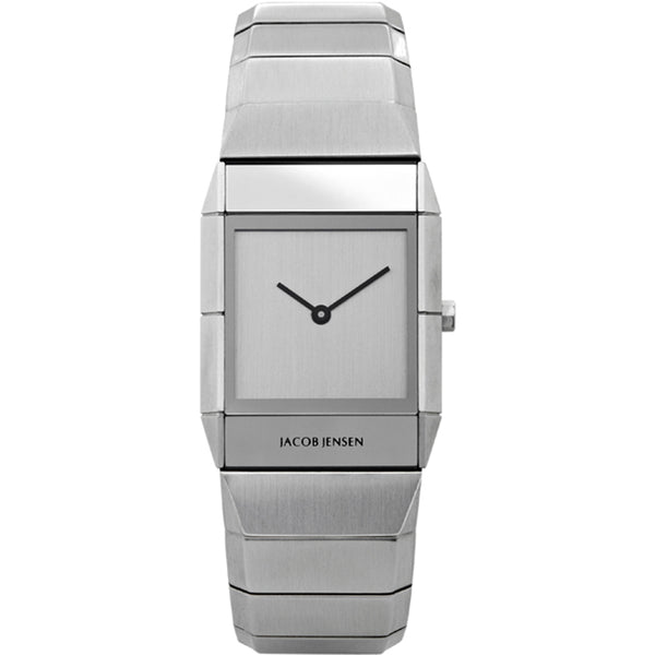 Jacob Jensen Sapphire Series 562 Stainless Steel Rectangle Quartz Women's Watch