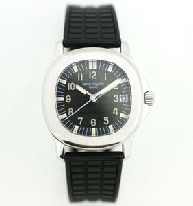 Patek Philippe Aquanaut 5066 Stainless Steel 36mm Rubber Automatic Wrist Watch