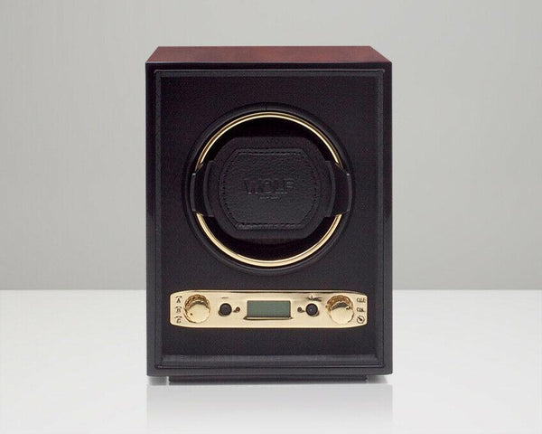 Wolf 453810 Burlwood Meridian Single Watch Winder